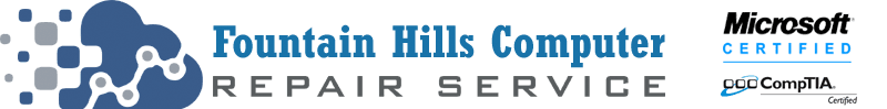 Call Fountain Hills Computer Repair Service at 480-666-5832